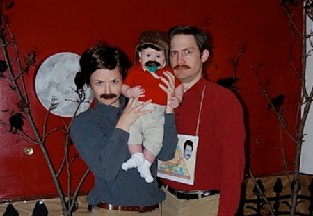 cosplay-costume-ron-swanson-family