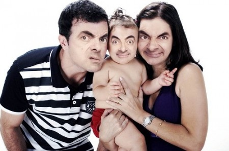 Mr-Bean-as-a-Baby-with-his-Parents