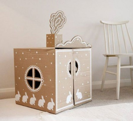 diy paper house for kids