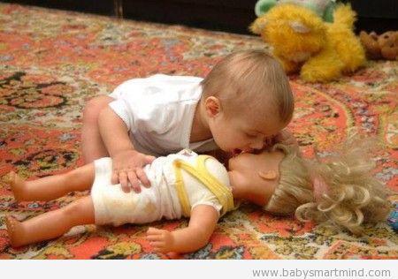 funny baby recuse breath