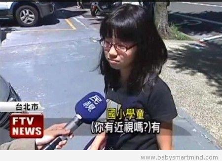 funny stupid reporter