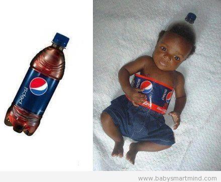 funny pepsi bby bottle