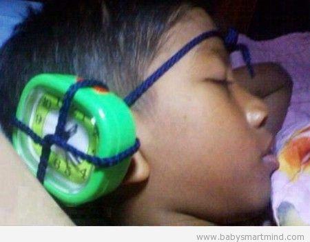 funny wake up method